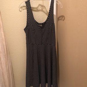 Free People Tank Dress - Polka Dot Size L